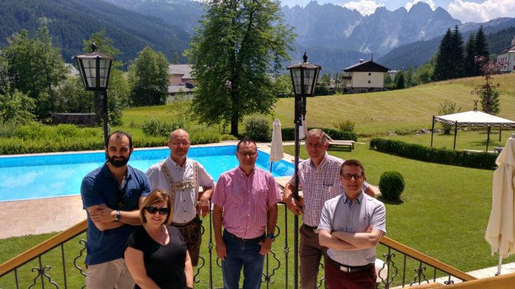 Sentinel team at Landhaus Hotel Koller